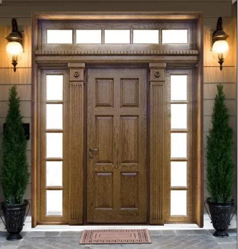 входные деревянные двери с шумоизоляцией