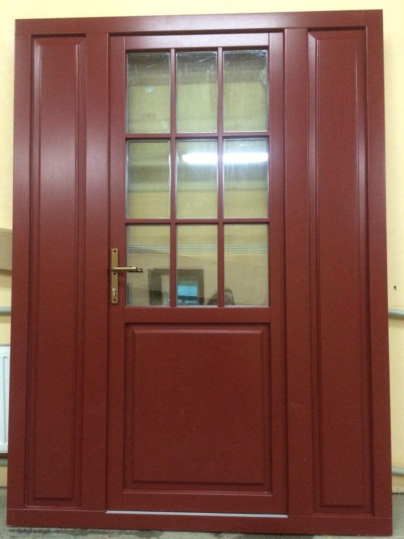 больше информации о входных дверях из дуба